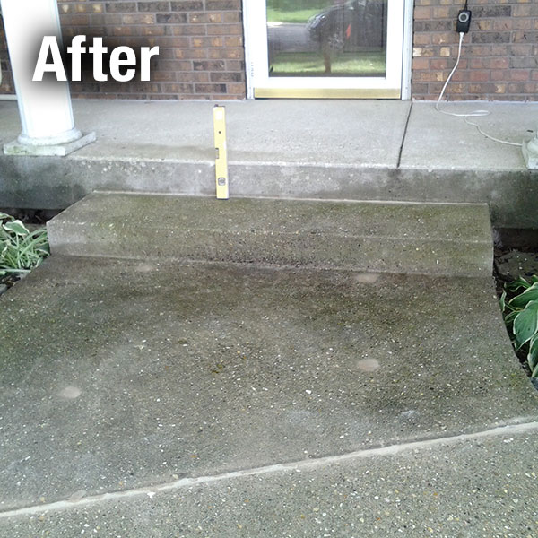 Cleveland - East Concrete Step Repair - After