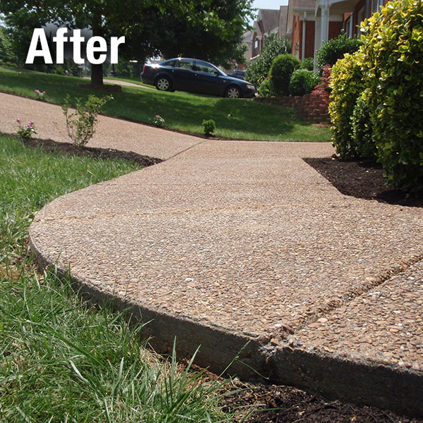 Cleveland – East Concrete Sidewalk Leveling - After
