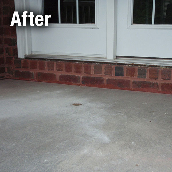 Cleveland – East Concrete Porch Leveling - After