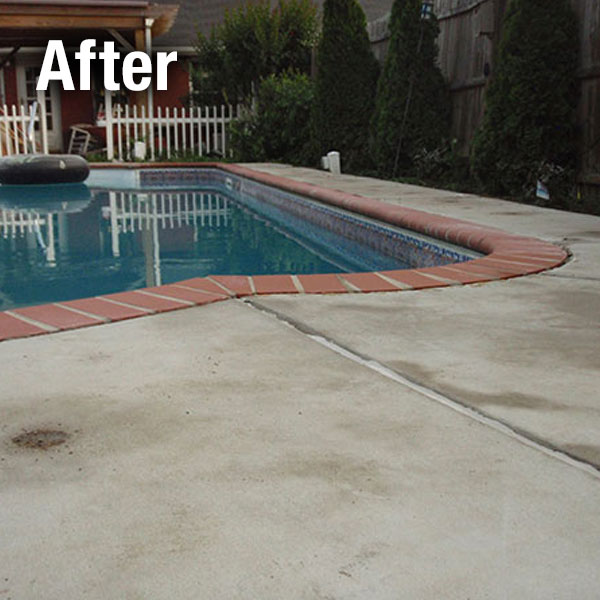 Cleveland - East, Concrete Pool Deck Leveling - After